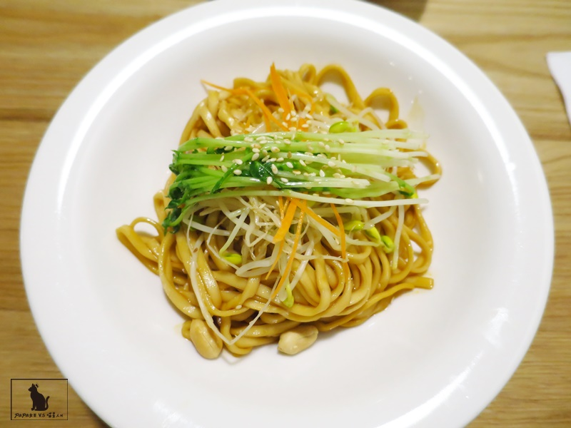 台中|素食 一葉齋 Vegan蔬食 中式料理遇上了橄欖油..燃麵香麻微辣!