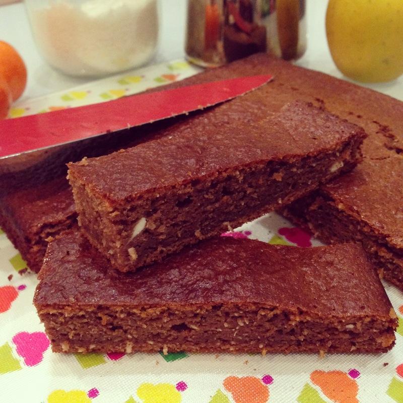 Gâteau chocolat, coco et ricotta