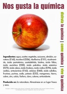 Las manzanas orgánicas tienen quimicos