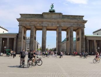 Brandenburger Tor in Berlin.