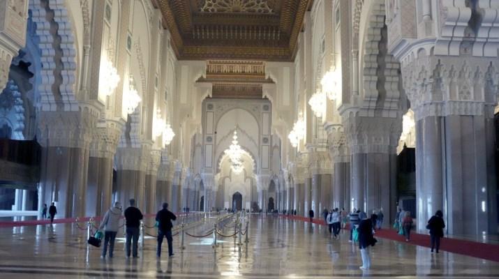 Prachtvolle Gebetshalle in Casablanca