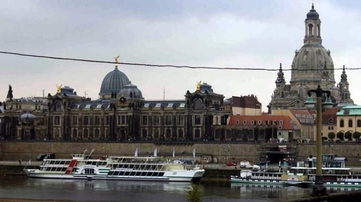 Die Altstadt von Dresden