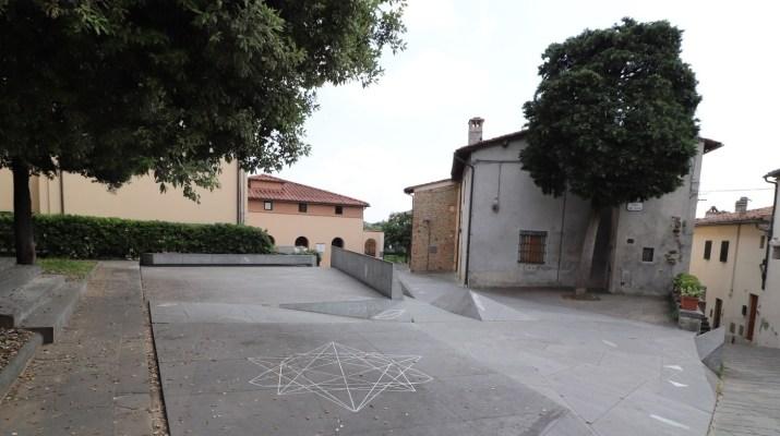 Piazza dei Guidi in Vinci