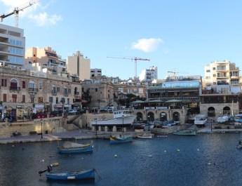 Fischerhafen von Sliema