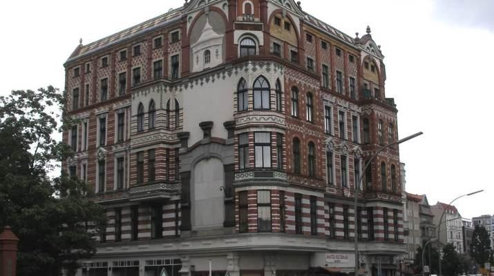 Das Wohn- und Geschäftshaus an der Badstraße zeugt vom Luisenbad