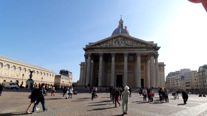 Im Panthéon in Paris finden berühmte Franzosen ihre letzte Ruhestätte