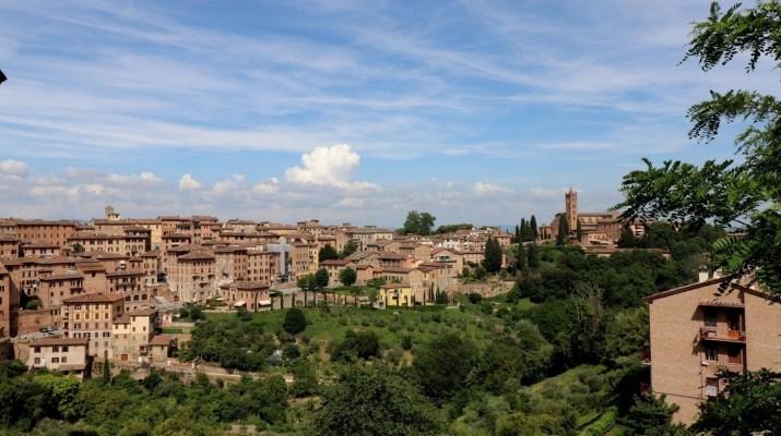 Mittelalterliche Stadt Siena