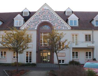 Das Frieda-Müller-Haus ist das größte Haus in der Siedlung