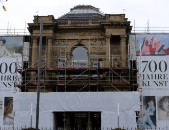 Das Städel Museum in Frankfurt wird renoviert