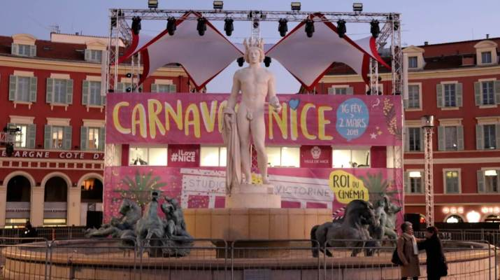 Zentraler Feierplatz in Nizza: Place Masséna
