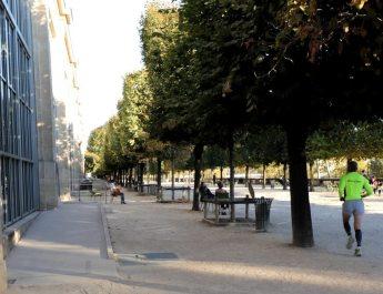Das Museum Orangerie liegt am nördlichen Seine-Ufer