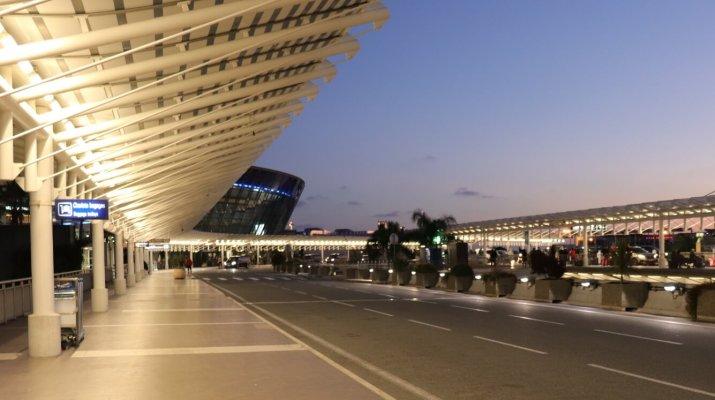 Terminal 2 am Flughafen Nizza