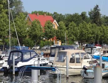 Der Hafen in Alt-Kladow