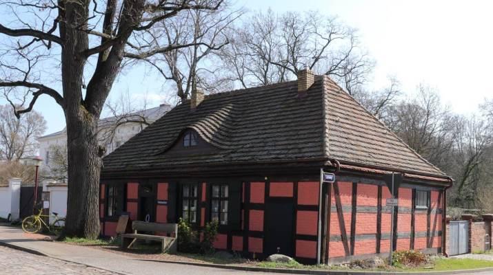 Das einstige Wohnhaus des Hofgärtners Fintelmann in Senzke