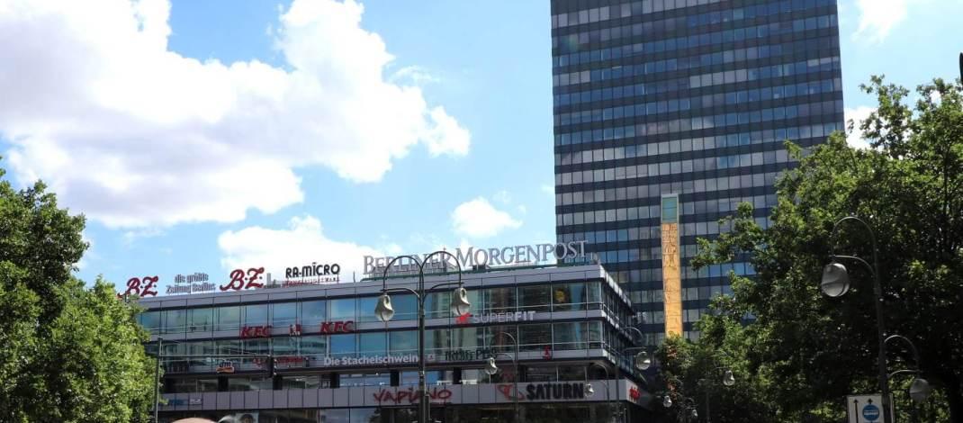 Das Europa-Center ist die älteste Shopping-Mall in Berlin
