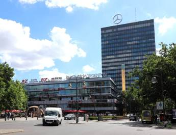 Das Europa-Center ist die älteste Shopping-Mall in Berlin