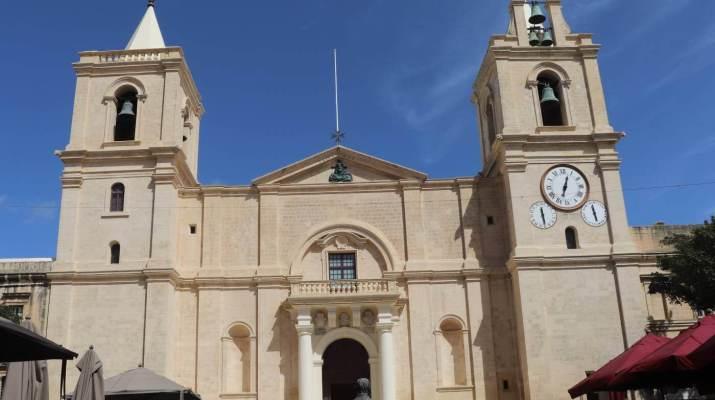 Die St. John´s Cathedral in Valletta