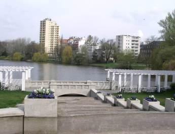 Die Große Kaskade am Lietzensee
