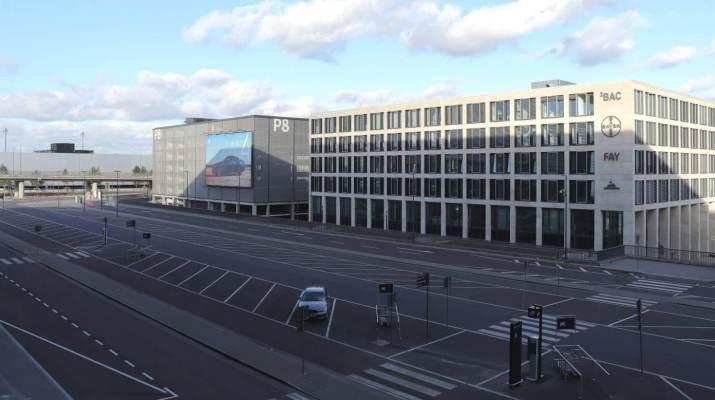 Noch gibt es viele freie Parkplätze am neuen Flughafen Berlin-Brandenburg