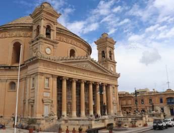 Das Gotteshaus von Mosta besitzt die viergrößte Kirchenkuppel weltweit