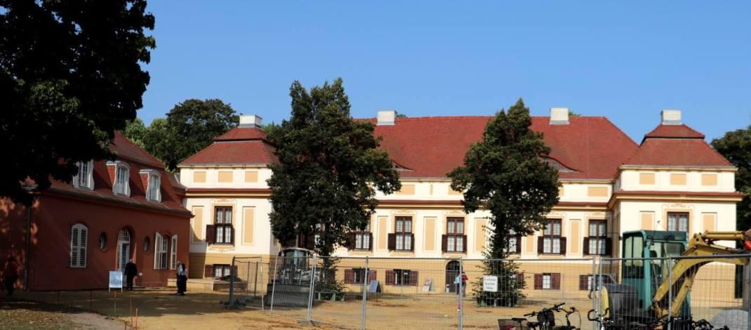 Das frühbarocke Schloss Caputh stammt aus der Zeit des Großen Kurfürsten