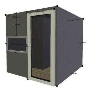 Voliere selber bauen - Abmessungen und Design der Voliere