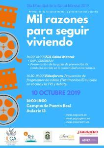 Día Mundial de la Salud Mental - Universidad de Cádiz