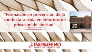 Curso de prevención del suicidio en prisiones