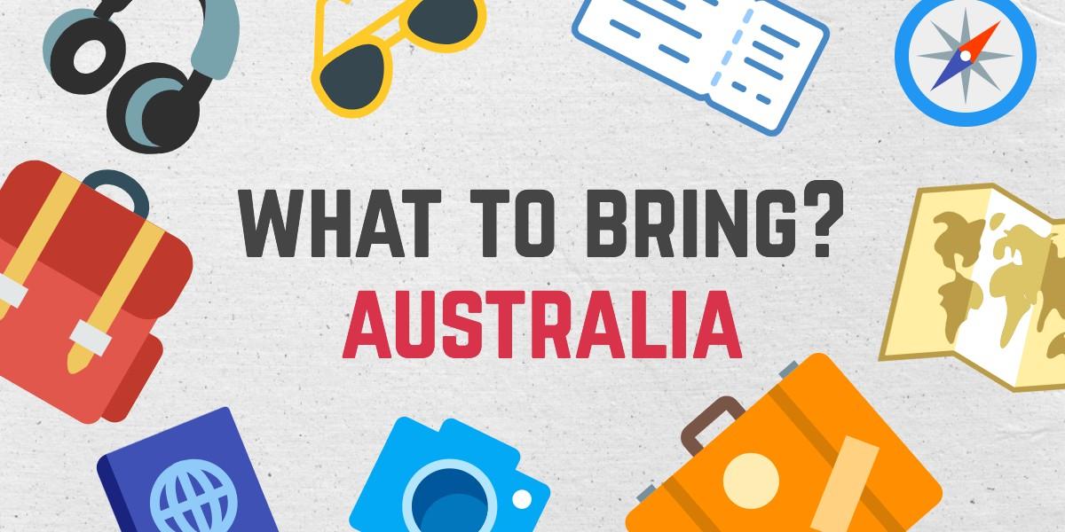 オーストラリア旅行持ち物リスト