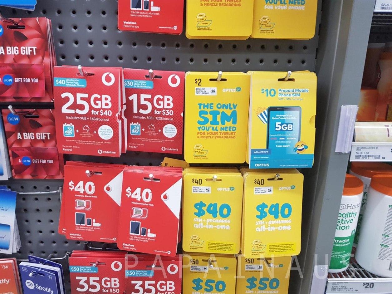 Vodafone(ボーダフォン)のSIM