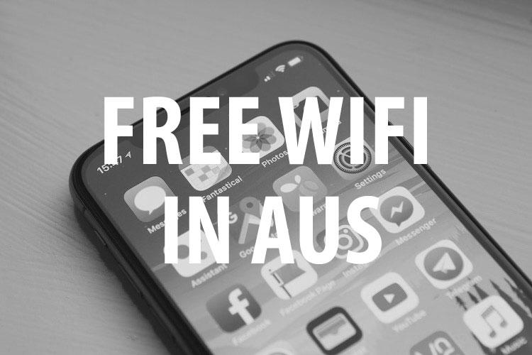オーストラリア無料WiFi