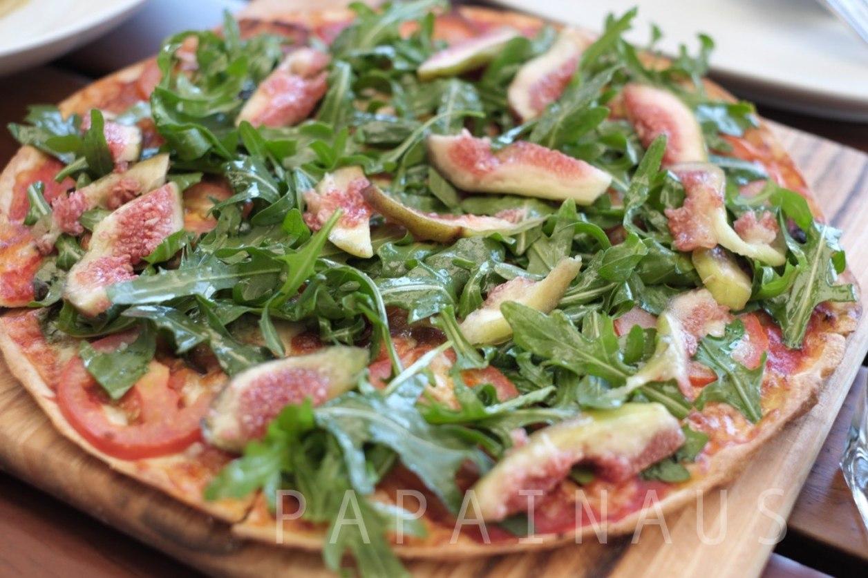 Fig(イチジク)のピザ。Hugoで一番人気