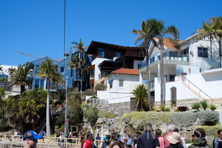 シェリービーチ付近の家はどれもオシャレ