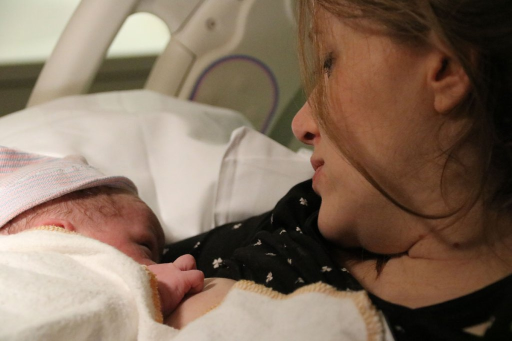 Tweede Bevalling borstvoeding
