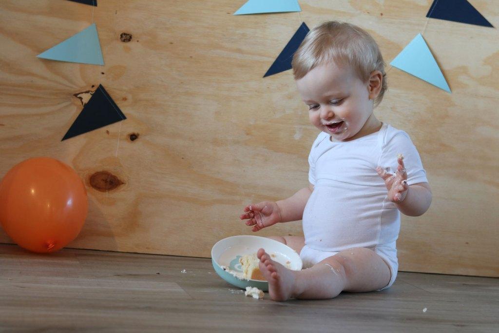 cake smash baby foto