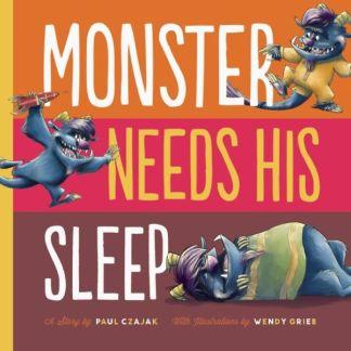 Monster Needs His Sleep