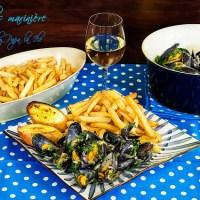 Moules marinière - Midii in sos de vin...