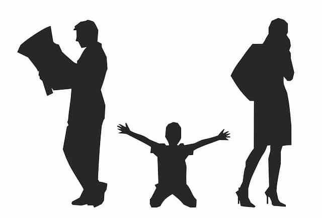 Kind und Trennung