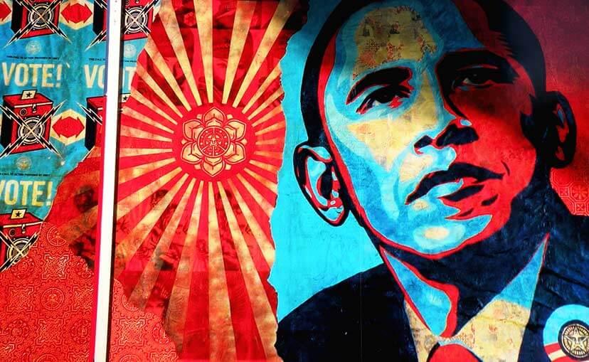 Obama-Graffiti