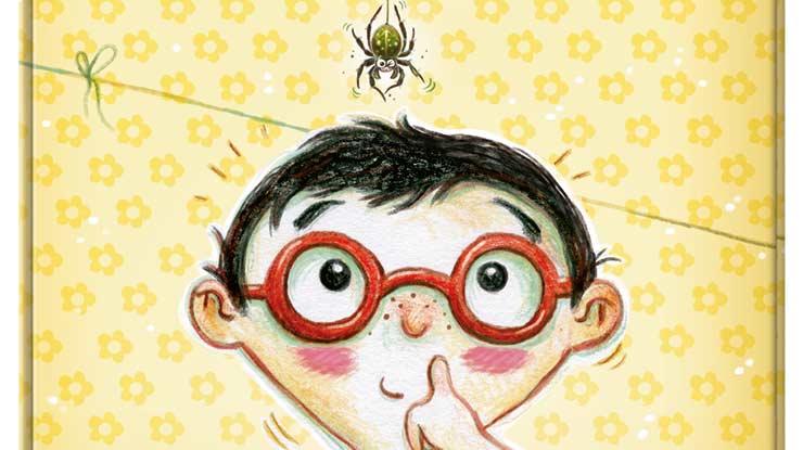 Spinnen-Alarm: Aussicht Buchcover
