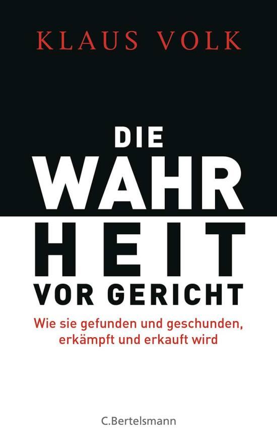 Cover: Die Wahrheit vor Gericht
