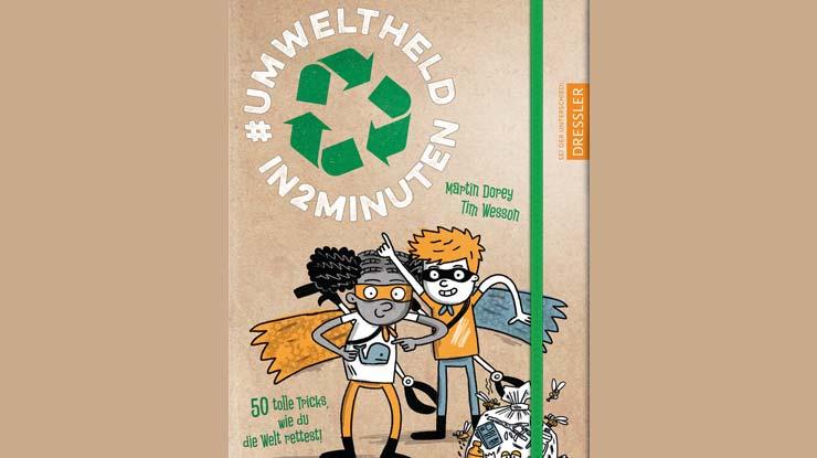 Buchcover: Umweltheld in 2 Minuten