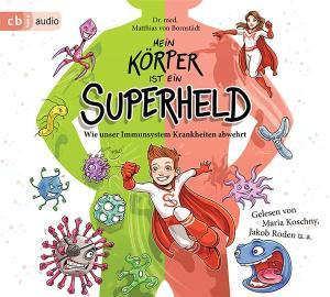 Mein Körper ist ein Superheld - CD-Cover