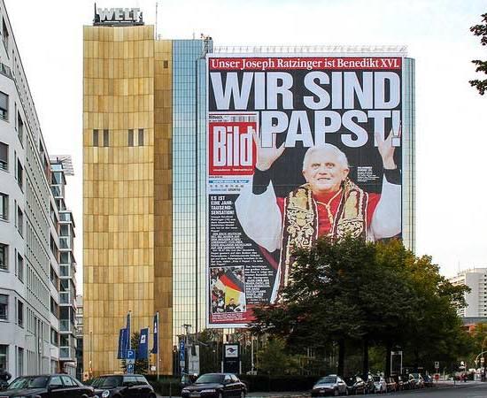 Affäre Reichelt: BILD titelt: Wir sind Papst
