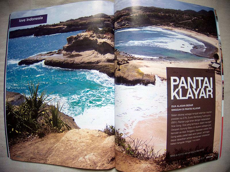 Love Indonesia, Getaway Magazine