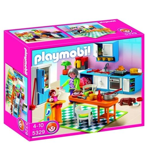 Des playmobils pour les petites filles - Playmobil cuisine 5329 ...