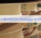 Recette du Berthoud - fondu au fromage d'abondance