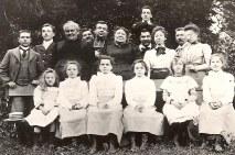 1899 - Famille Emile LANDRIEU (2) - Caours L'Heure (voir détails ci-dessous)