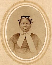 Anathasia LEVOIR (x de Pierre MAILLET), mère d'Olympe MAILLET (x 1)