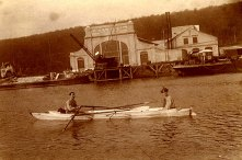 Été 1913 au Havre sur Macaroni : François et Denis PADIEU
